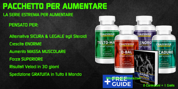 integratori per body building